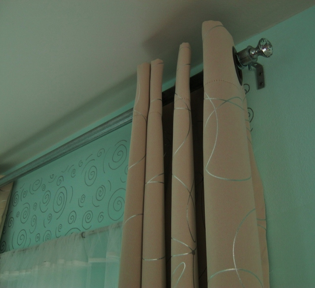 How To Make A Chic Curtain Rod And Finial Lynda Makara