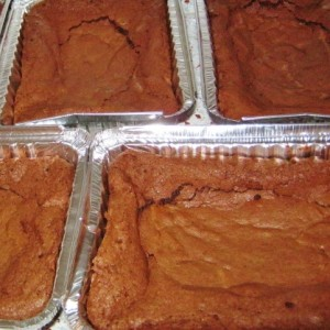 sunken brownies
