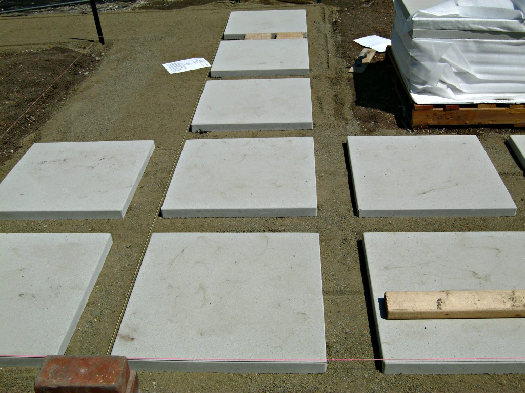 "How to install 24"" concrete pavers - Lynda Makara"