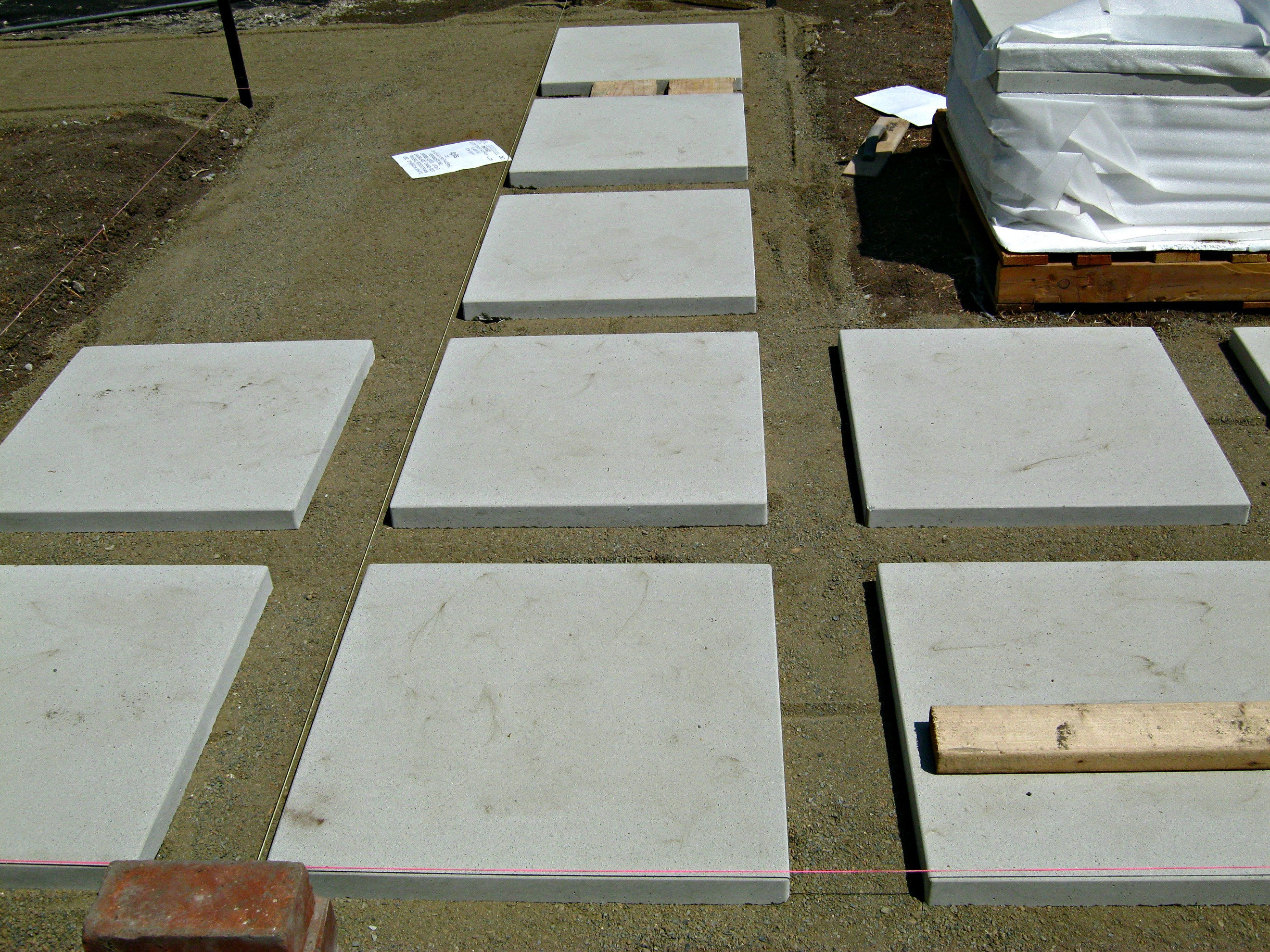 24x24 concrete patio pavers