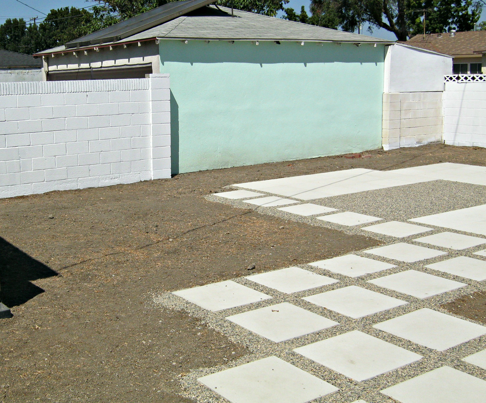 Painted cinder block wall texture - Primer Applied To Cinderblock Walls Not Garage