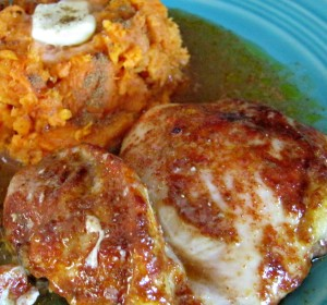 spicy smoky baked chicken