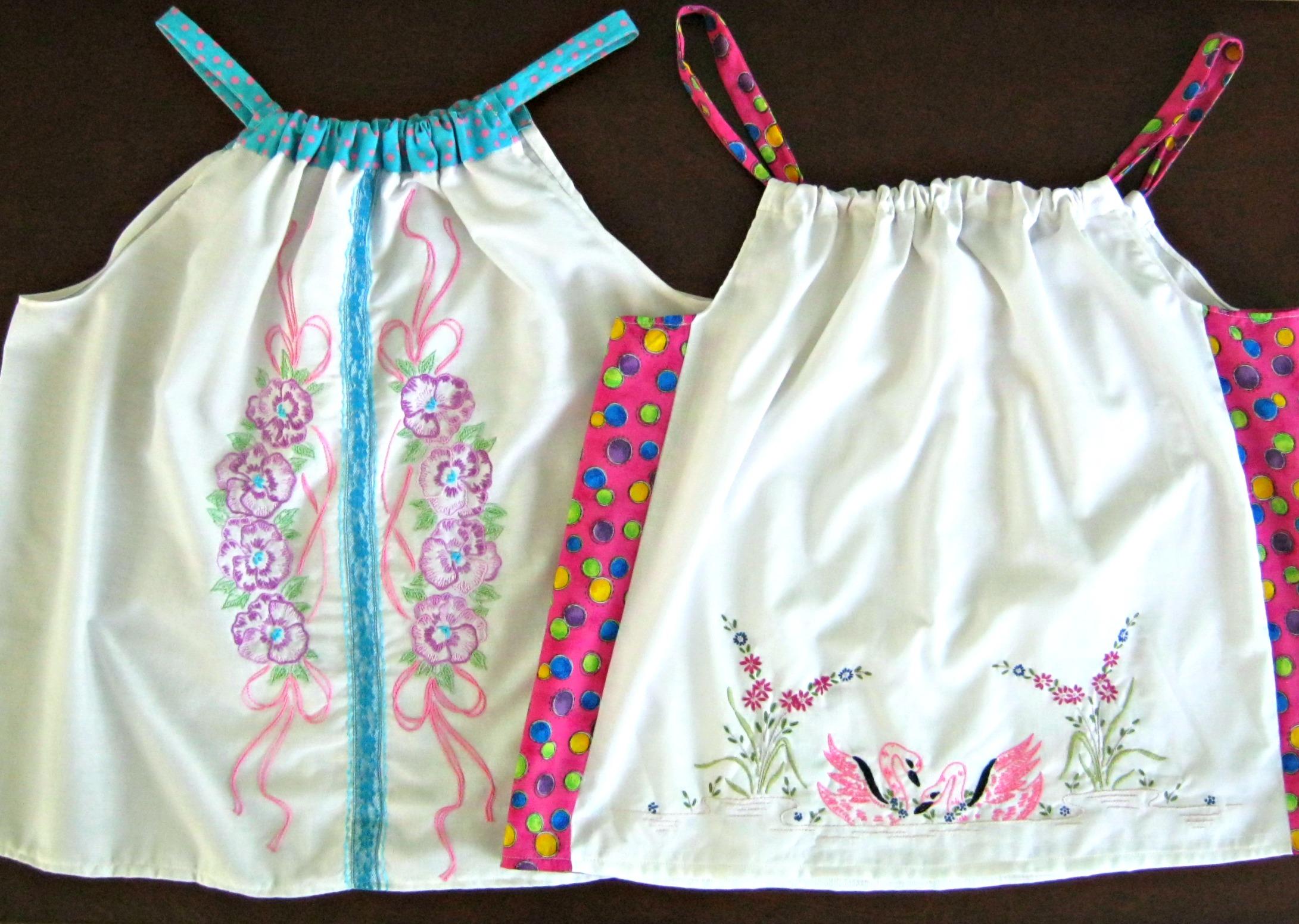 Two new pillowcase top designs & New pillowcase top designs for women - Lynda Makara pillowsntoast.com