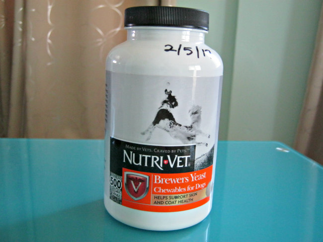 Nutri Vet brewers yeast and garlic